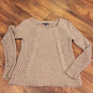 American Eagle Sweater Open Weave S